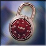 Lockers México - chapa seguridad de candado